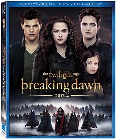 Breaking Dawn Part 2 Blu-Ray