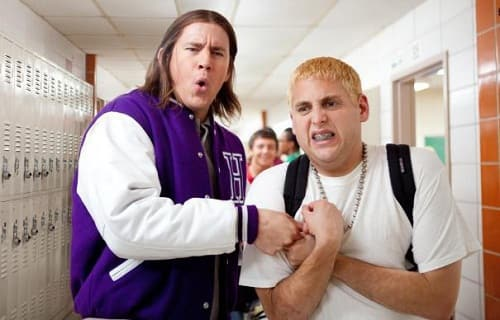 Channing Tatum and Jonah Hil in 21 Jump Street