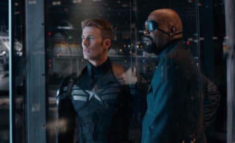 Captain America The Winter Soldier Chris Evans Samuel L. Jackson