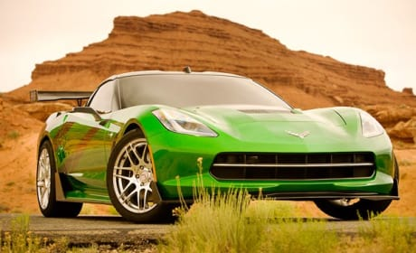 Transformers 4 Autobot Corvette Stingray