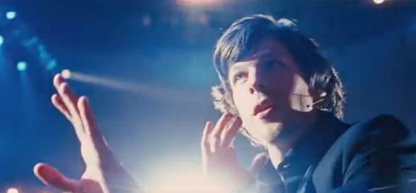 Jesse Eisenberg Stars in Now You See Me