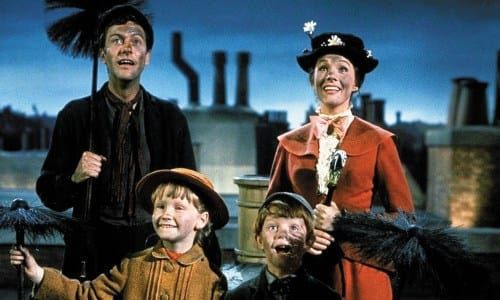 The Cast of Mary Poppins