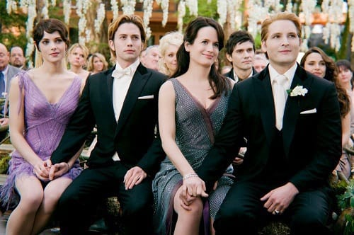 Elizabeth Reasner and Peter Facinelli in The Twilight Saga: Breaking Dawn Part 1