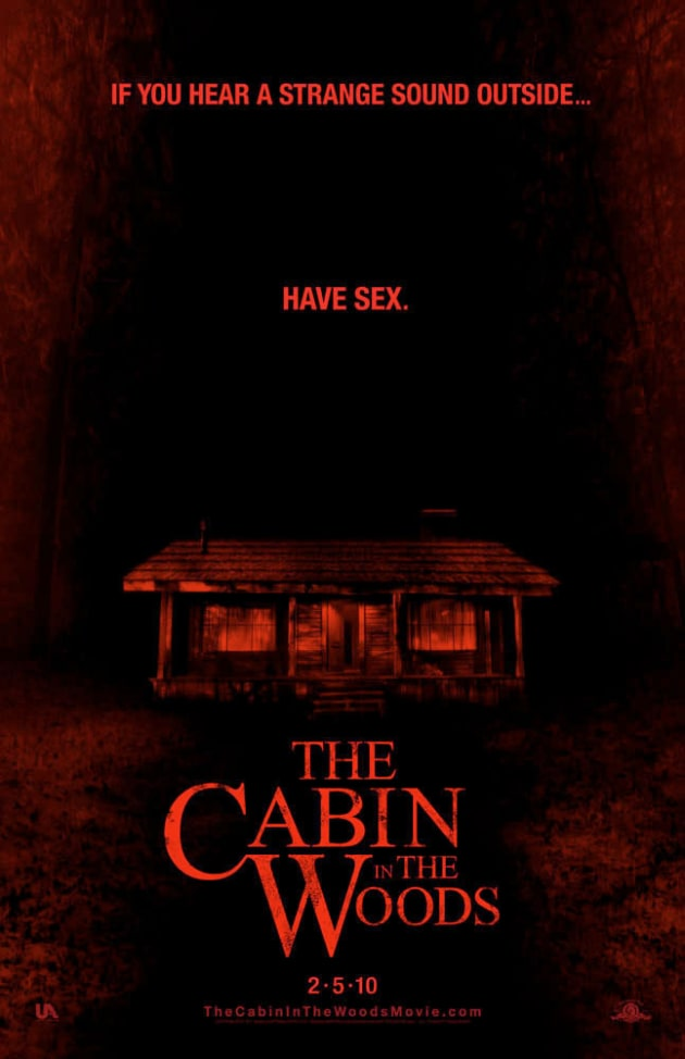 The Cabin in the Woods Sex Poster - Movie Fanatic