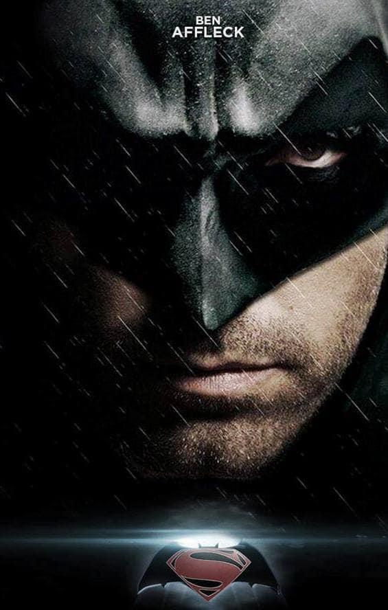 Superman vs. Batman Ben Affleck Poster
