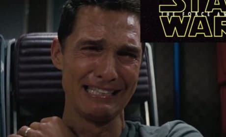 Matthew McConaughey Star Wars Reaction Photo