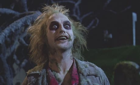 Michael Keaton is Beetlejuice