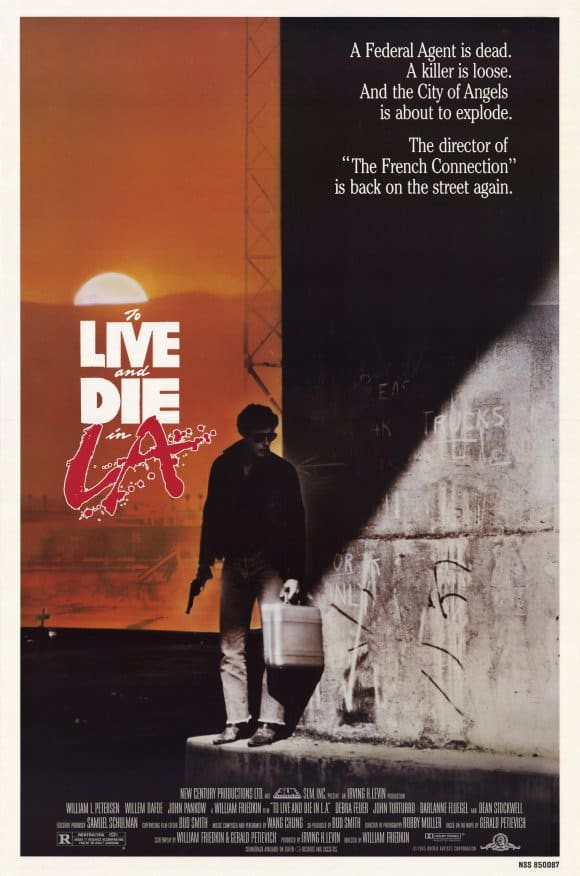 To Live and Die in L.A Poster