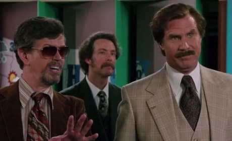 Will Ferrell is Ron Burgundy Anchorman 2