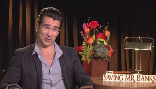 Colin Farrell Saving Mr. Banks Photo