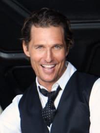 Dreamy Matthew McConaughey