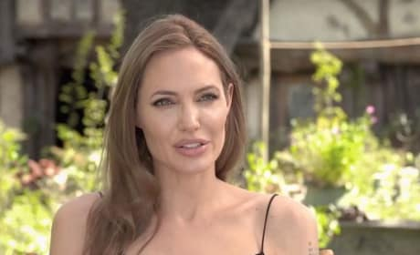 Angelina Jolie Talks Maleficent