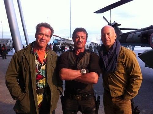 Arnold Schwarzenegger Expendables 2 Tweet