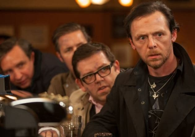 Simon Pegg Nick Frost The World's End