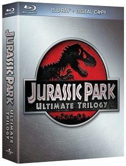 Jurassic Park Triology Blu-Ray