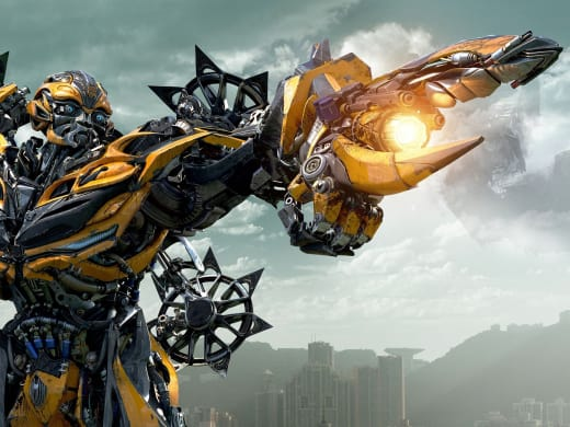 Bumblebee Transformers: Age of Extinction Still