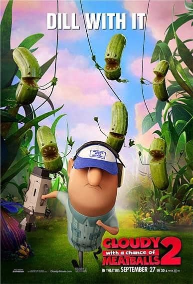 Cloudy with a Chance of Meatballs 2 Dill With It Poster