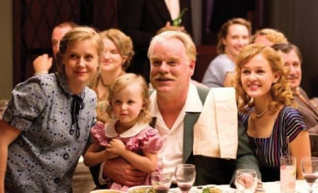 Amy Adams and Philip Seymour Hoffman The Master