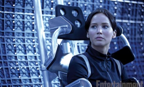 Catching Fire Photo: Katniss Gets a Close-Up