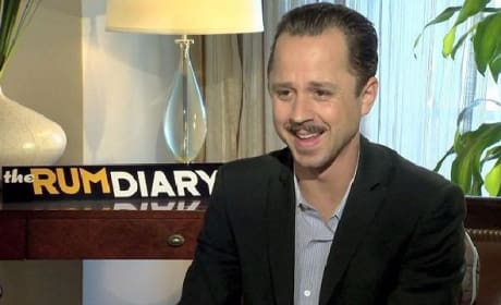 Rum Diary Exclusive: Giovanni Ribisi Channels His Inner Gonzo