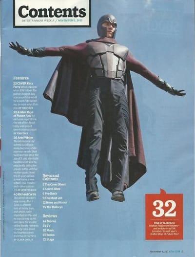 X-Men Days of Future Past Michael Fassbender Magneto
