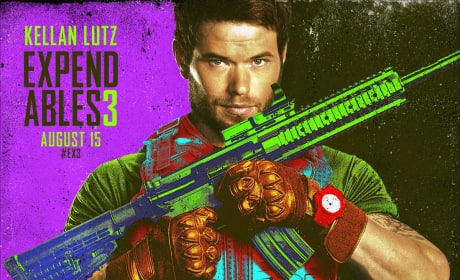 The Expendables 3 Kellan Lutz Comic Con Poster