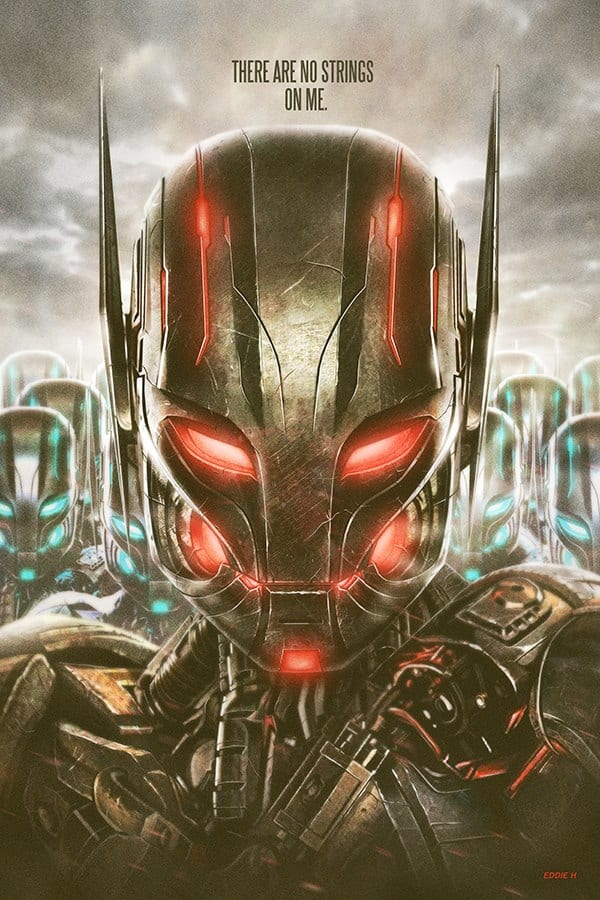 Avengers Age of Ultron Limited Edition Poster