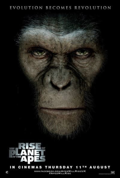 Rise of the Planet of the Apes International Poster
