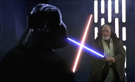 Star Wars Darth Vader Fights Obi-Wan