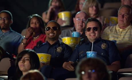 Let's Be Cops Stars Damon Wayans Jr. Jake Johnson