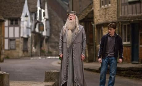 Harry, Dumbledore