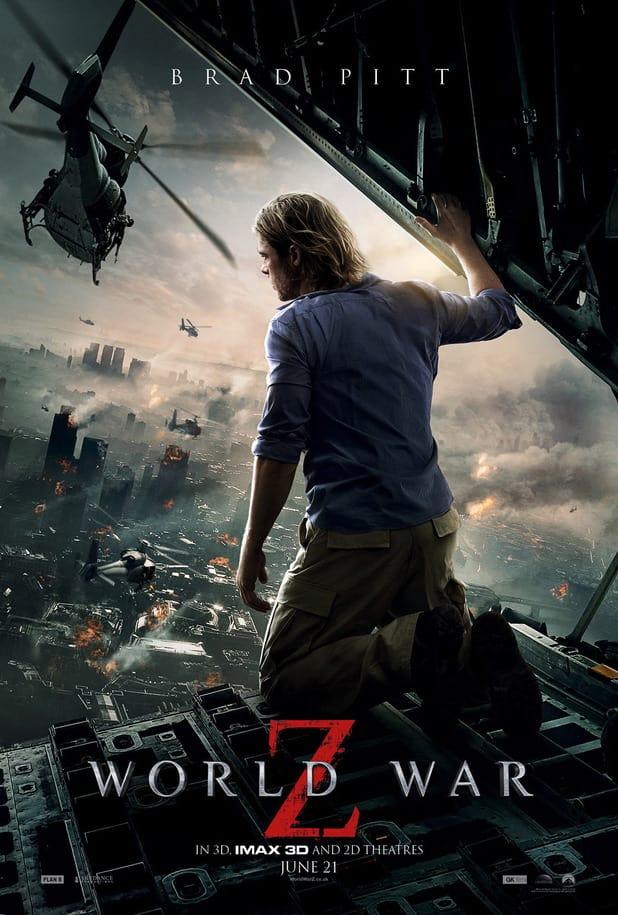 World War Z Poster New