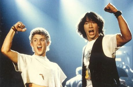 Keanu Reeves and Alex Winter are Bill and Ted