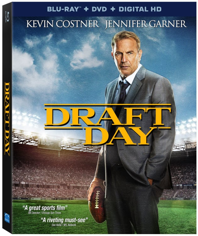 Draft Day DVD