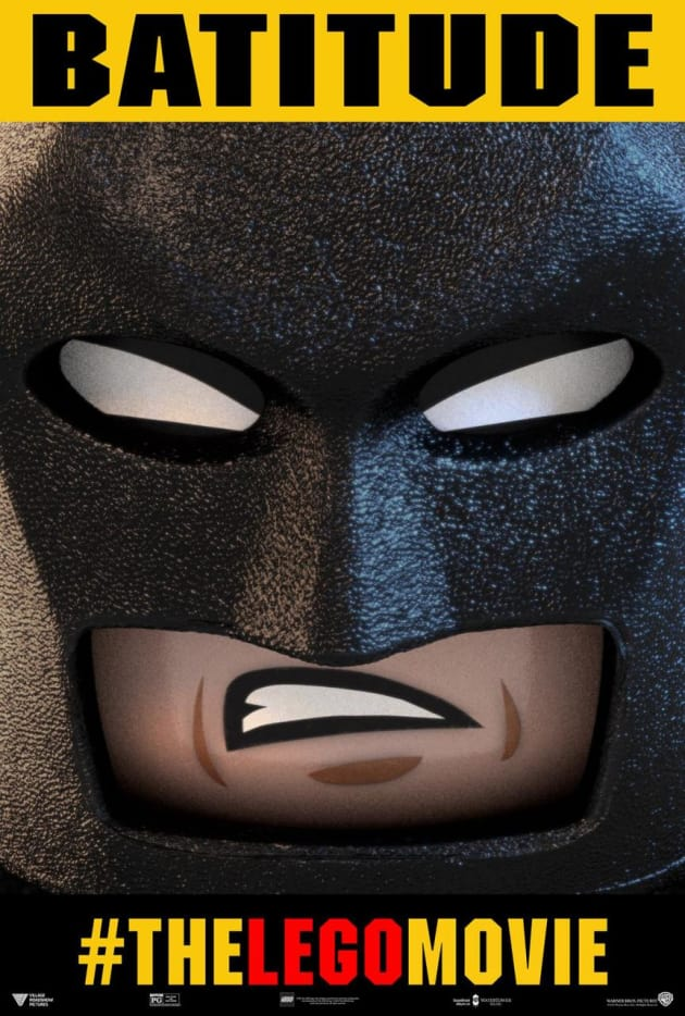 The LEGO Movie Batman Poster
