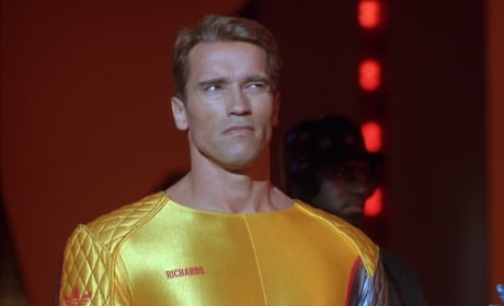 The Running Man Arnold Schwarzenegger