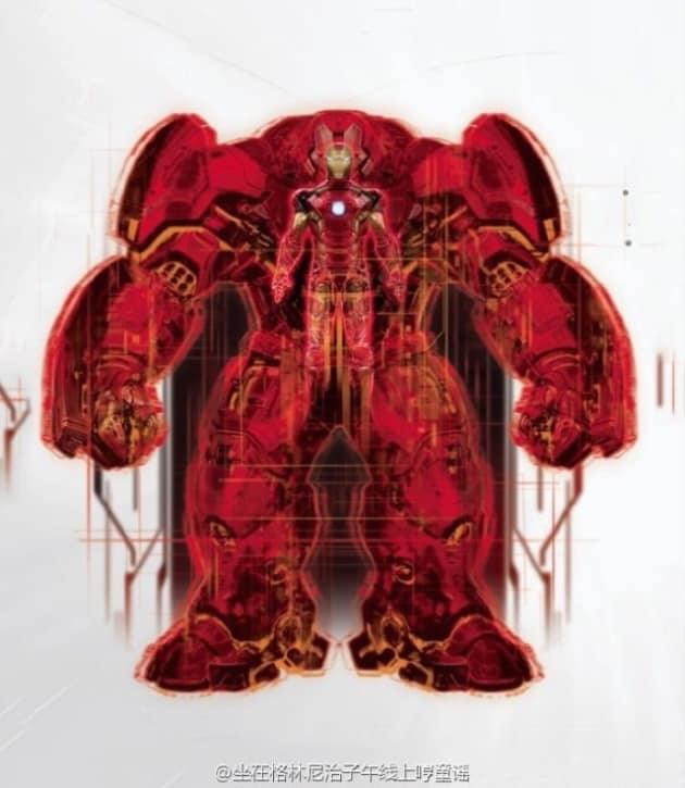 Avengers Age of Ultron Promo Art Inside Hulkbuster