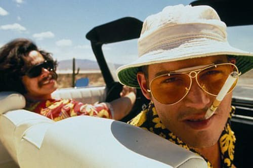 Johnny Depp in Fear and Loathing in Las Vegas