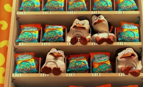 Penguins of Madagascar Clip: Penguins vs. Vending Machine