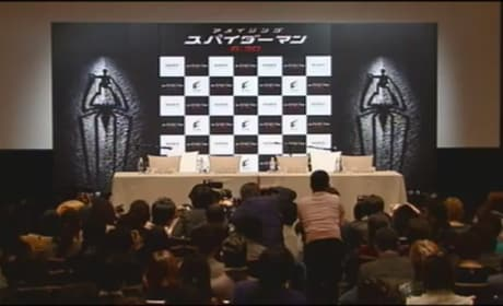 Watch Now: Amazing Spider-Man Press Con from Japan