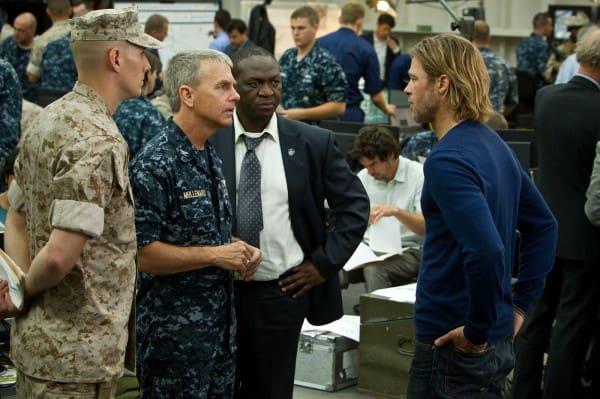 World War Z Brad Pitt David Andrews