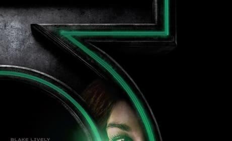 Green Lantern Blake Lively Poster