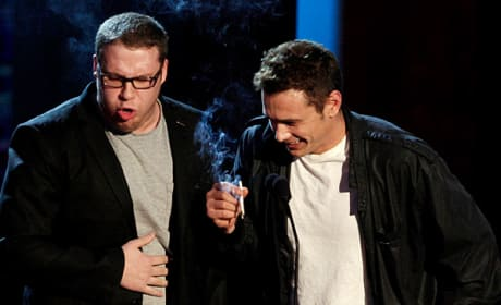 MTV Movie Awards Seth Rogen James Franco