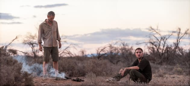 The Rover Robert Pattinson And Guy Pearce