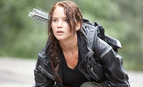 Hunger Games: Katniss Herself, Jennifer Lawrence, Talks Tough