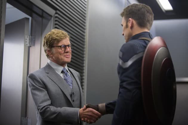 Captain America: The Winter Soldier Robert Redford Chris Evans
