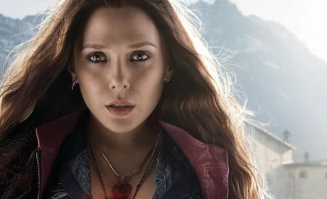Avengers Age of Ultron Scarlet Witch Poster