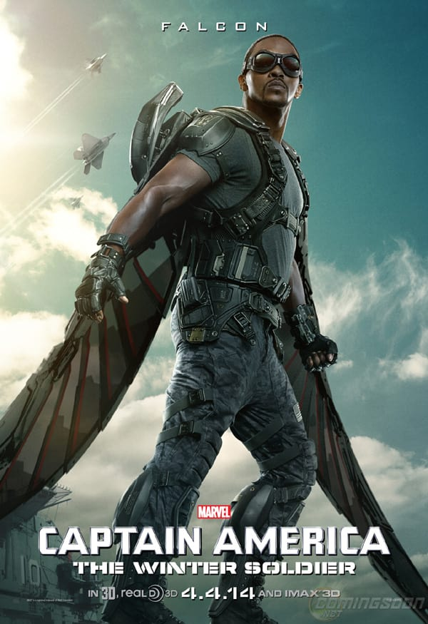 Captain America The Winter Woldier Falcon Poster