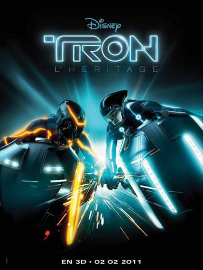 Tron Legacy French Poster