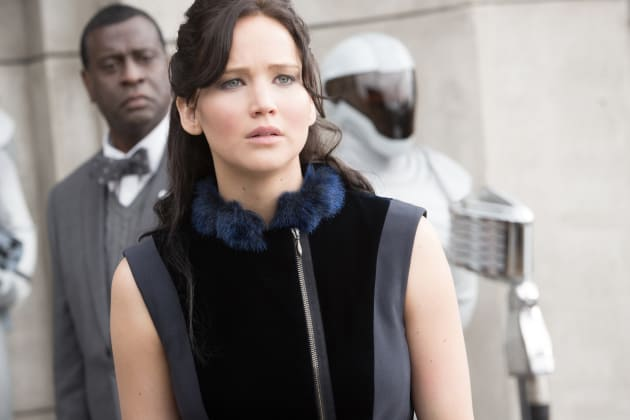 Katniss in Catching Fire
